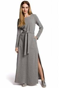 M354 Sukienka szara