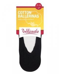 BE491003 Ballerinas cotton stopki damskie bawełniane