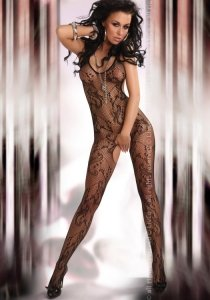 Eden Black LC 17031 bodystocking
