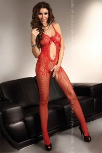 Magali Red LC 17036 bodystocking