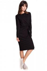 B013 sukienka czarna
