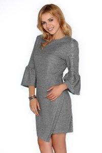 Lorrainnea Grey FZ1740 sukienka