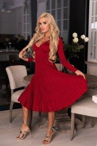 Frojene Wine Red FZ1755 sukienka