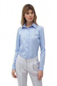 Klasyczna błękitna koszula - K58