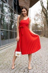 Meratin Red D07 sukienka