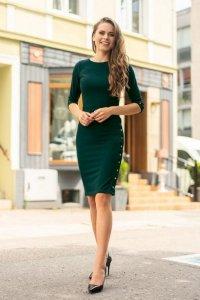 Aeroma Dark Green 85200 sukienka