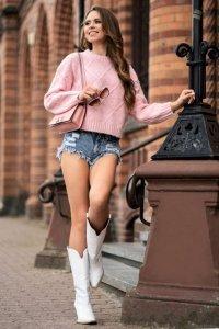 Xmasin Pink sweter