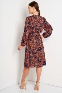 Sukienka L390 druk 2