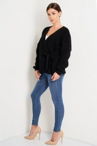 Sweter LS355 czarny