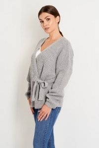 Sweter LS355 szary