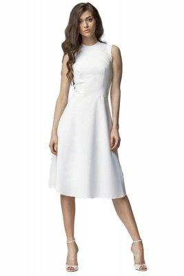 Sukienka MIDI - ecru - S62