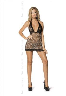 LD 30 Miss Wild black+leopard