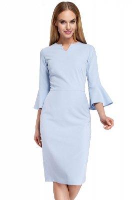 M299 Sukienka błękintna