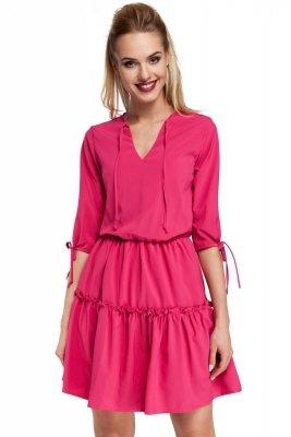 M301 Sukienka różowa