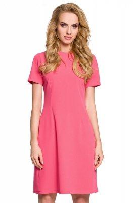 M309 Sukienka różowa