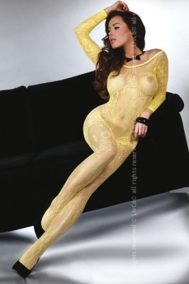 Abra Yellow LC 17086 bodystocking żółte