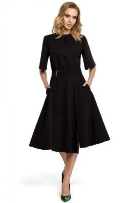 M396 Sukienka - czarna