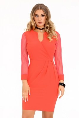 Nisamina Coral sukienka