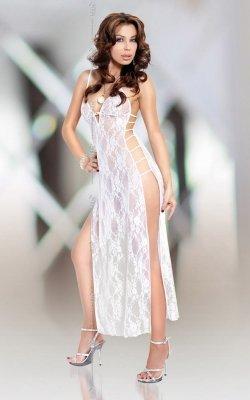xRoxie - white 1748 koszulka i stringi