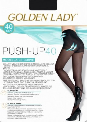 RAJSTOPY GOLDEN LADY PUSH UP 40