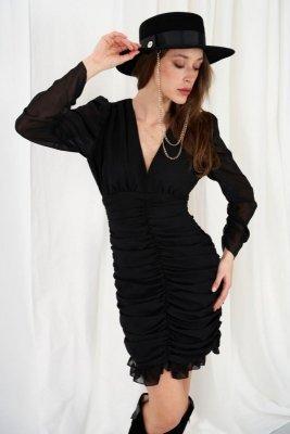 Sukienka L332 czarny