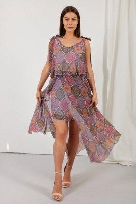 Sukienka LG548 druk 20