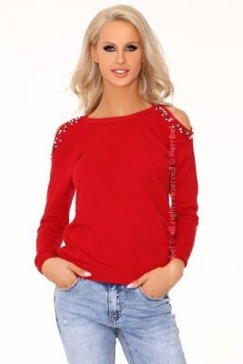 Habriban Red 2010 sweter