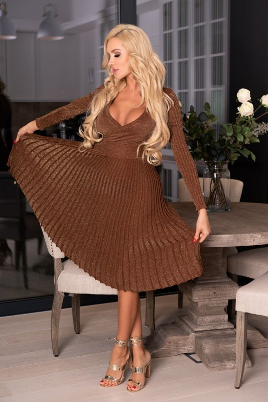 Frojene Camel FZ1755 sukienka
