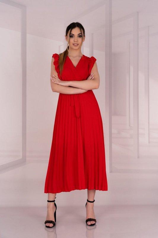 Merlotina Red D03 sukienka
