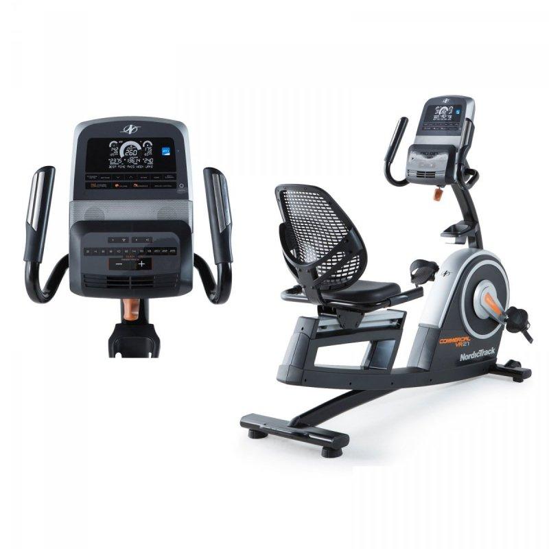 Rower Poziomy Programowany NordicTrack Commercial VR 21 + Roczne członkostwo iFit