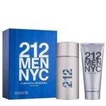 Carolina Herrera 212 Men NYC Zestaw - EDT 100 ml + ASG 100 ml