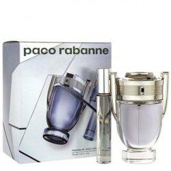 Paco Rabanne Invictus Set - EDT 100 ml + EDT 20 ml