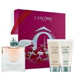 Lancome La Vie est Belle Zestaw - EDP 50 ml + BL 50 ml + SG 50 ml