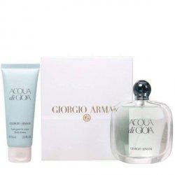 Giorgio Armani Acqua di Gioia Zestaw - EDP 100 ml + BL 75 ml