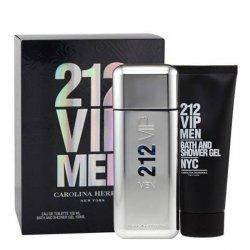 Carolina Herrera 212 VIP MEN Zestaw - EDT 100 ml + SG 100 ml