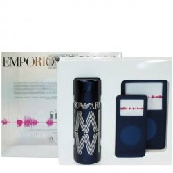Emporio Armani Remix He Woda toaletowa 50 ml + gratis Etui na odtwarzacz mp3