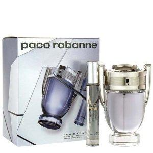 Paco Rabanne Invictus Zestaw - EDT 100 ml + EDT 20 ml