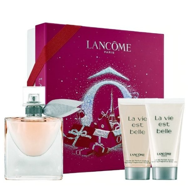 Lancome La Vie est Belle Set - L'Eau de Parfum 50 ml + Body Lotion 50 ml + Shower Gel 50 ml