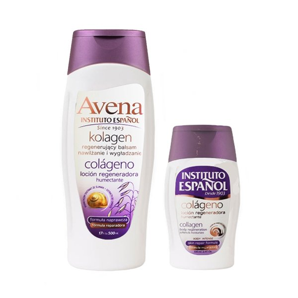 Instituto Espanol Avena Collagen Regenerating Lotion 500 ml + 100 ml
