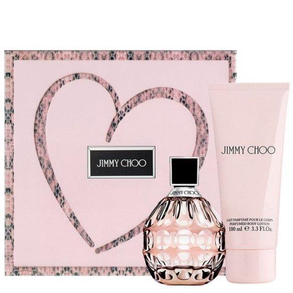 Jimmy Choo Set - Eau de Parfum 60 ml + Body Lotion 100 ml