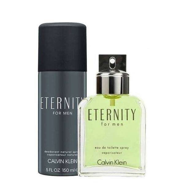 Calvin Klein Eternity for Men Set - Eau de Toilette 100 ml + Deodorant Natural Spray 150 ml