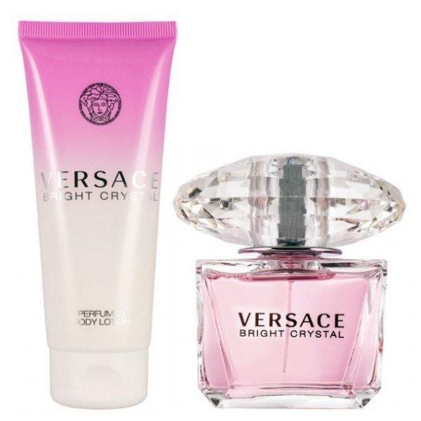 Versace Bright Crystal Set - Eau de Toilette 90 ml + Body Lotion 100 ml