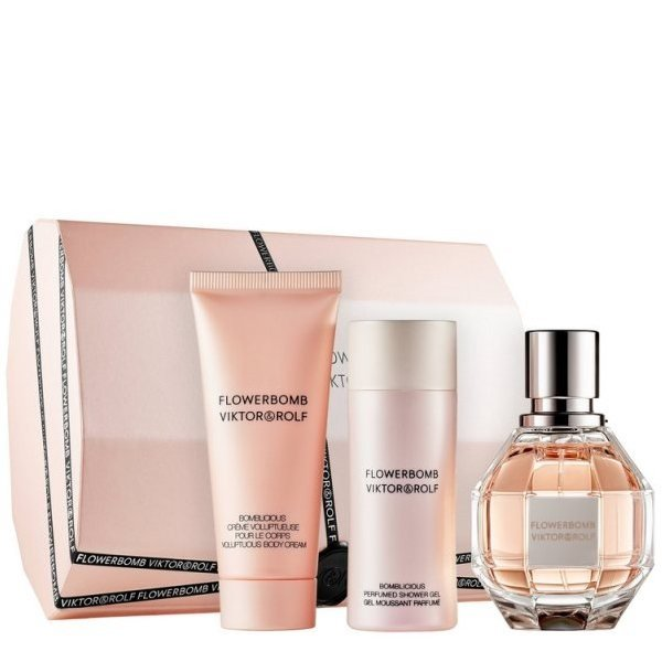 Viktor & Rolf Flowerbomb Set - Eau de Parfum 50 ml + Body Cream 40 ml + Shower Gel 50 ml