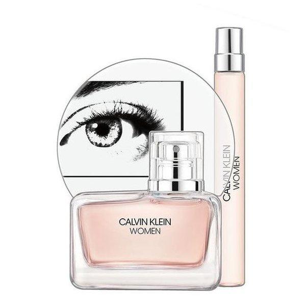 Calvin Klein Woman Set - Eau de Parfum 100 ml + rollerball Eau de Parfum 10 ml