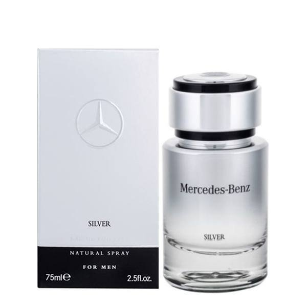 Mercedes-Benz Silver Eau de Toilette 75 ml