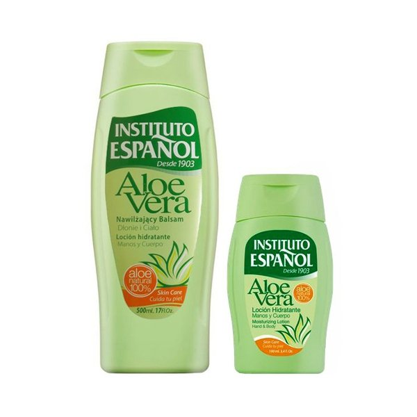 Instituto Espanol Aloe Vera Moisturizing Lotion 500 ml + 100 ml