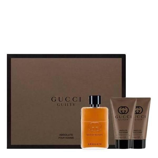 Gucci Guilty Absolute Set - EDP 50 ml + ASB 50 ml + SG 50 ml