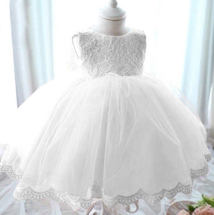 Sukienka Chrzest Julia biel