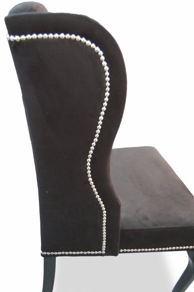 Wings Chair with Studding |98cm|