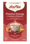 Yogi Tea Pozytywna energia POSITIVE ENERGY CRANBERRY HIBISCUS